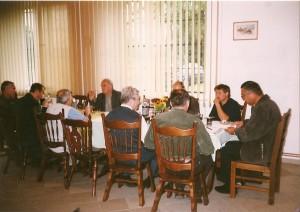 Kucharowo 1.09.2001 Narada prezesów szczecineckich kół łowieckich